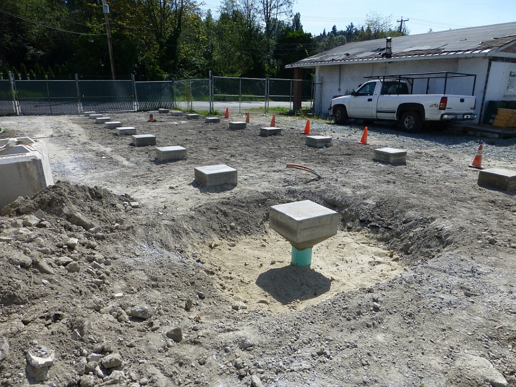 7 - Sonic piles in place for new office